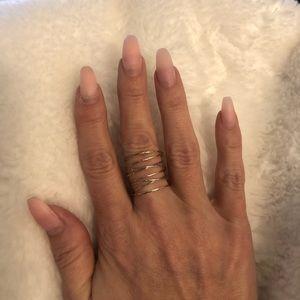Stella & Dot Gwen Wrap Ring
